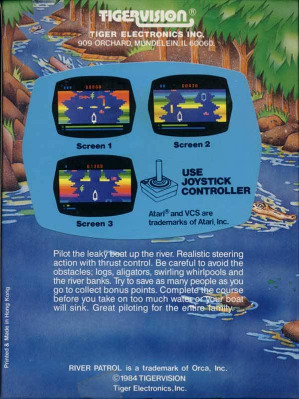River Patrol - Atari 2600 | Retro1UP Game