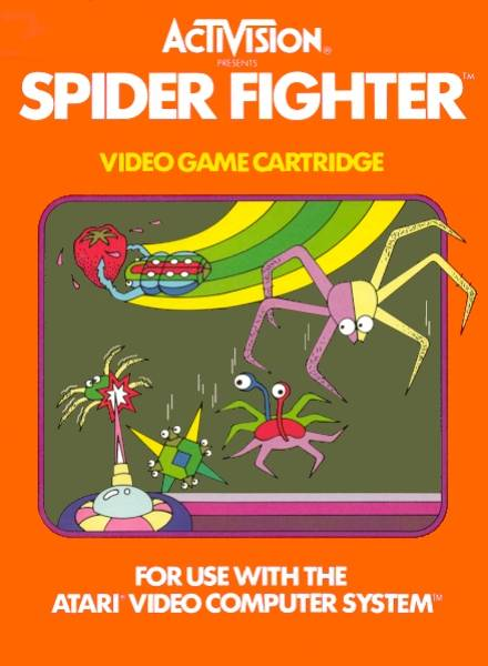 Spider Fighter - Atari 2600 | Retro1UP Game