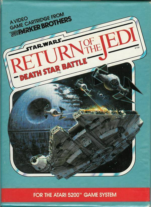 Star Wars: Return of The Jedi - Death Star Battle - Atari 5200 | Retro1UP Game