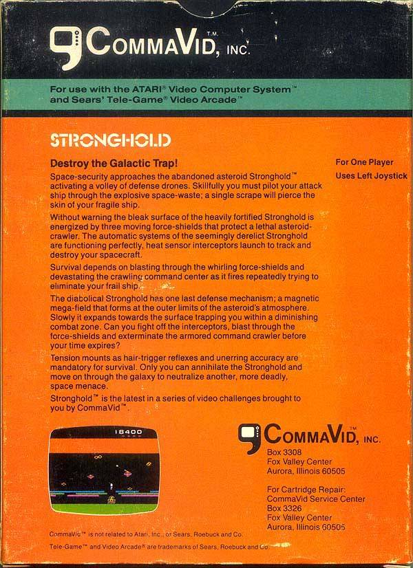 Stronghold - Atari 2600 | Retro1UP Game
