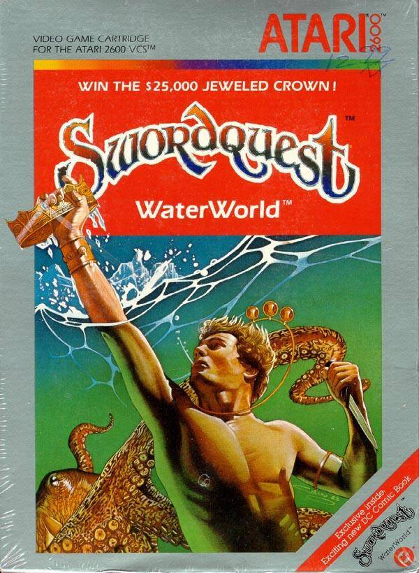 Swordquest: WaterWorld - Atari 2600 | Retro1UP Game