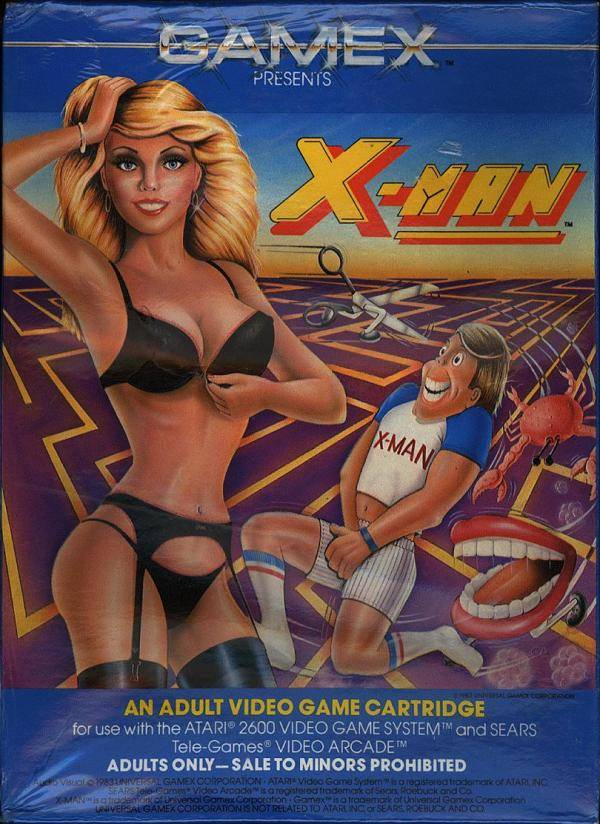 X-Man - Atari 2600 | Retro1UP Game