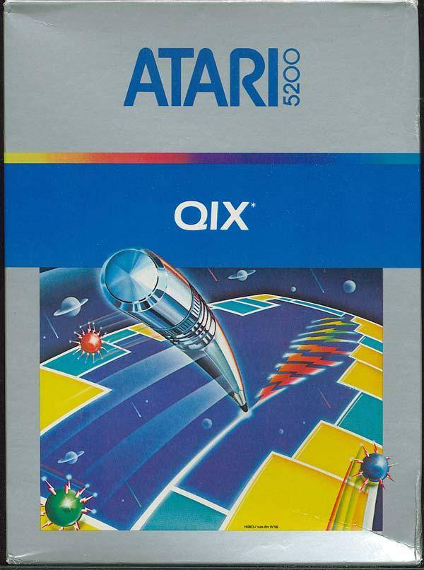 Qix - Atari 5200 | Retro1UP Game