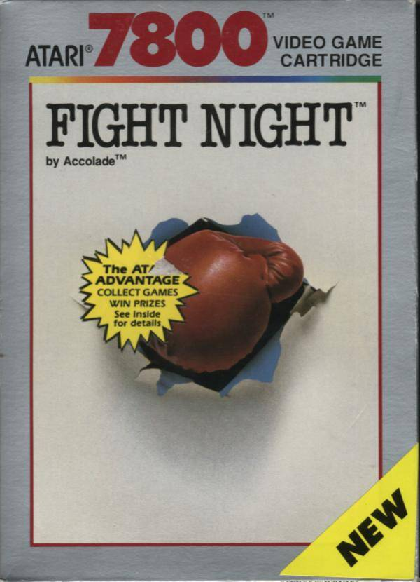 Fight Night - Atari 7800 | Retro1UP Game