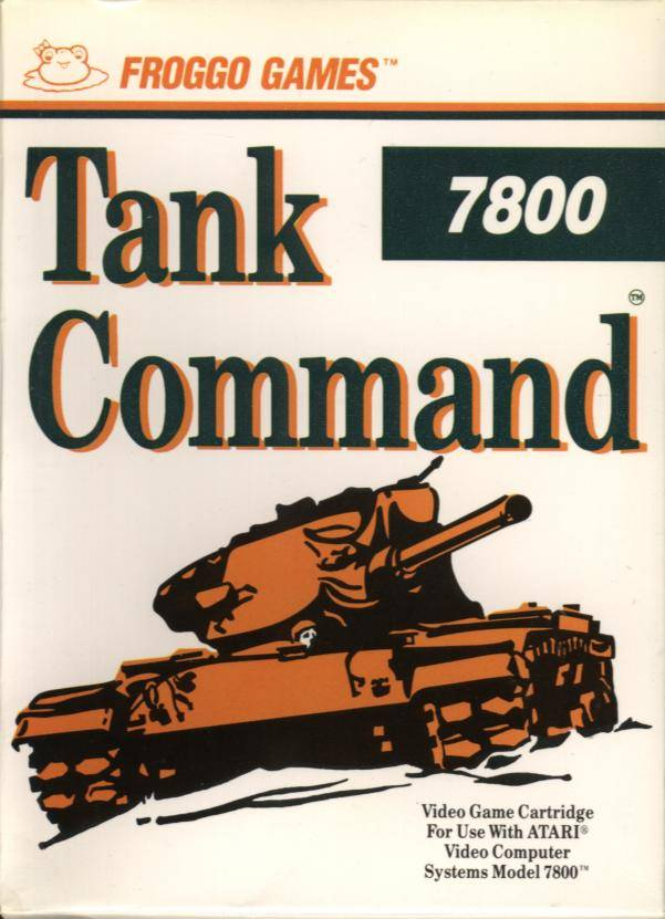 Tank Command - Atari 7800 | Retro1UP Game