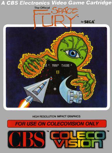 Space Fury - Colecovision | Retro1UP Game