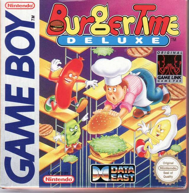 BurgerTime Deluxe - Game Boy | Retro1UP Game
