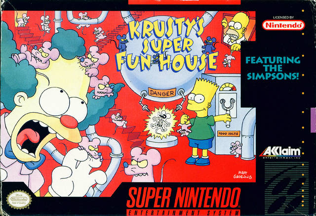 Krusty's Super Fun House - Super Nintendo | Retro1UP Game