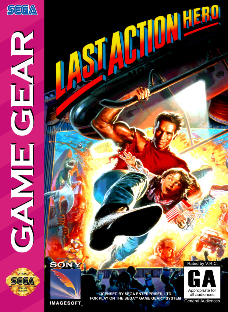 Last Action Hero - GameGear | Retro1UP Game