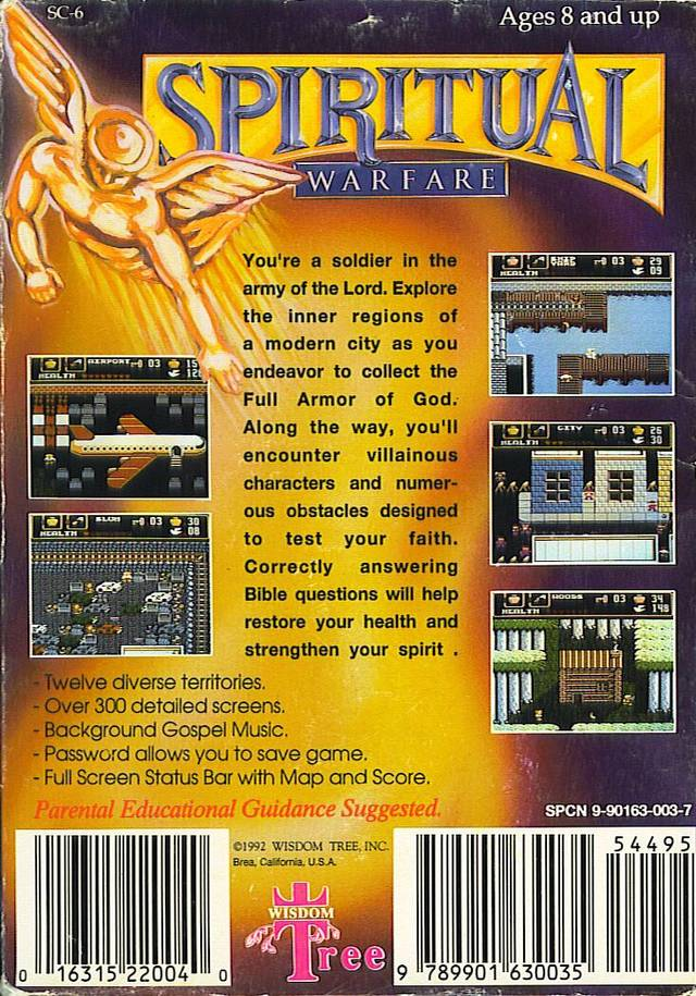 Spiritual Warfare - NES | Retro1UP Game