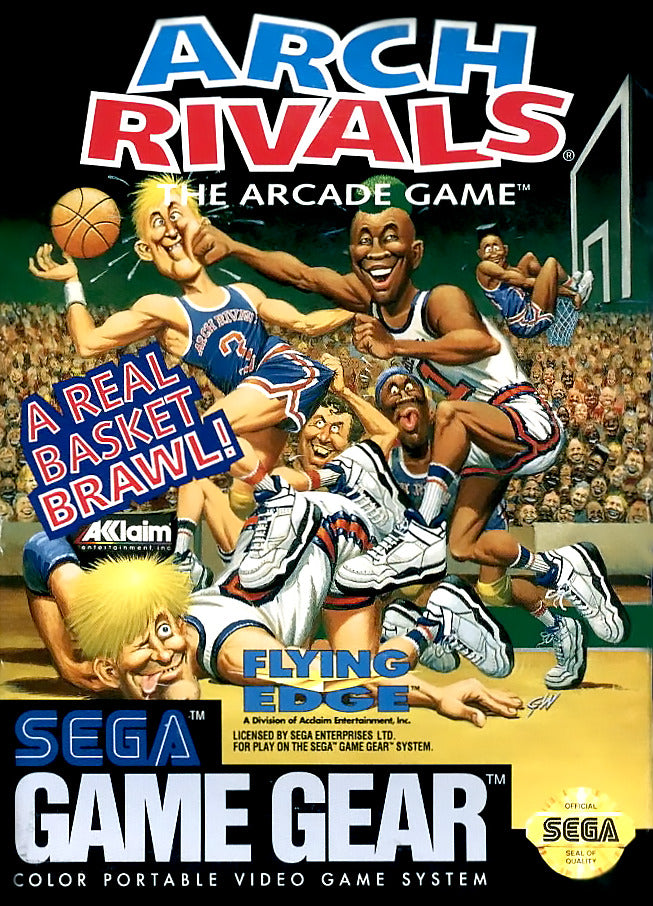 Arch Rivals: The Arcade Game - GameGear | Retro1UP Game