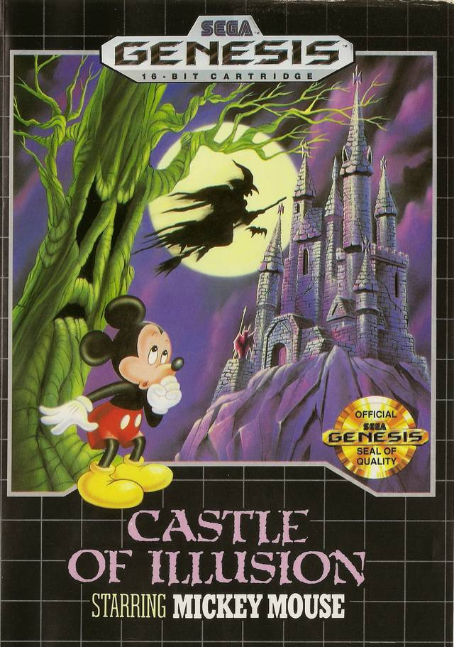 Castle of Illusion Starring Mickey Mouse - Genesis | Retro1UP Game