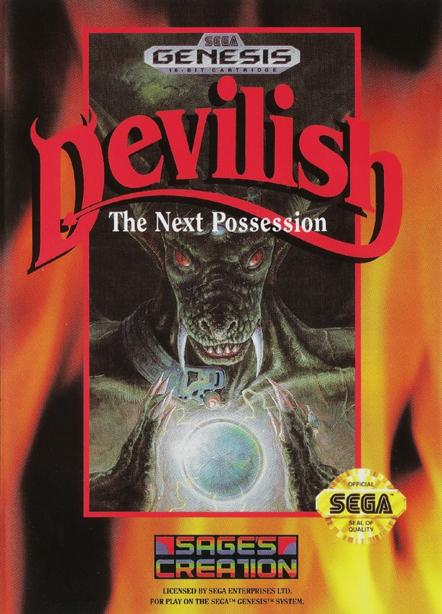 Devilish: The Next Possession - Genesis | Retro1UP Game