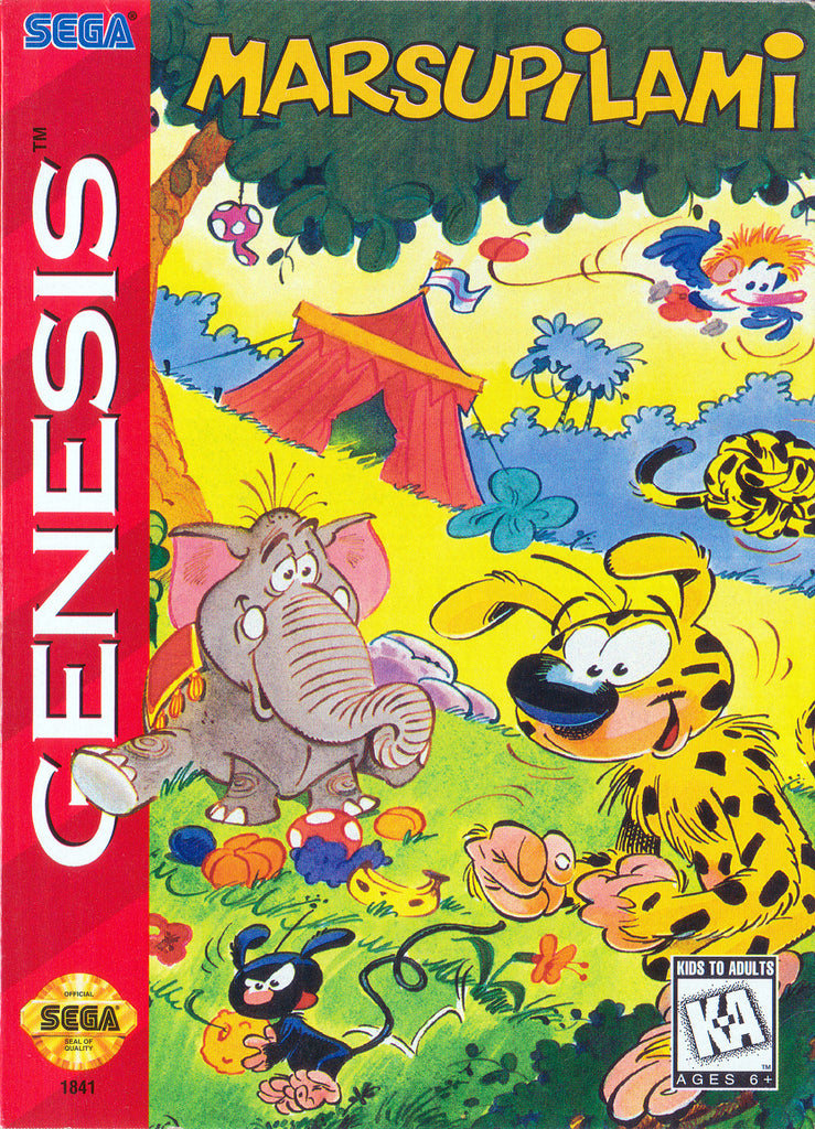 Marsupilami - Genesis | Retro1UP Game
