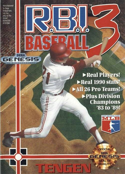 R.B.I. Baseball 3 - Genesis | Retro1UP Game
