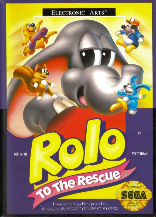Rolo to the Rescue - Genesis | Retro1UP Game