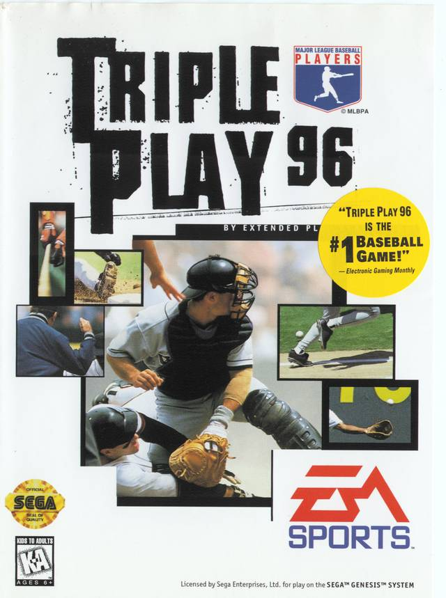 Triple Play 96 - Genesis | Retro1UP Game