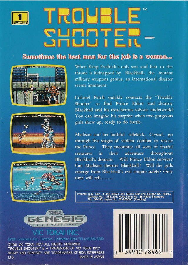 Trouble Shooter - Genesis | Retro1UP Game