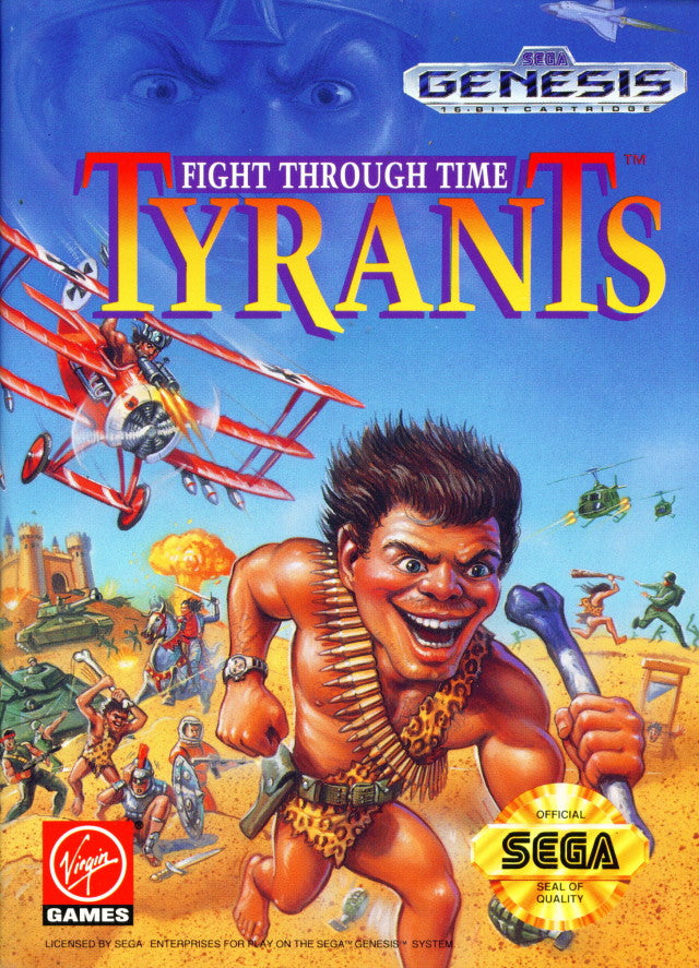 Tyrants: Fight Through Time - Genesis | Retro1UP Game