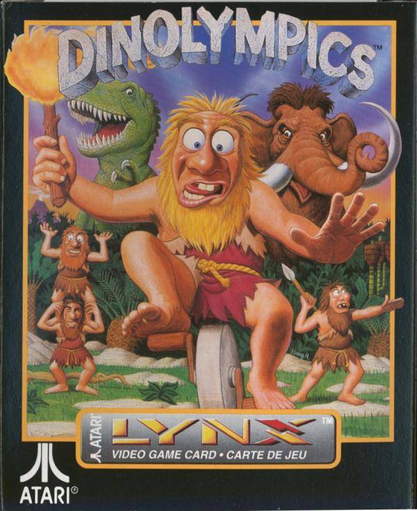 Dinolympics - Lynx | Retro1UP Game