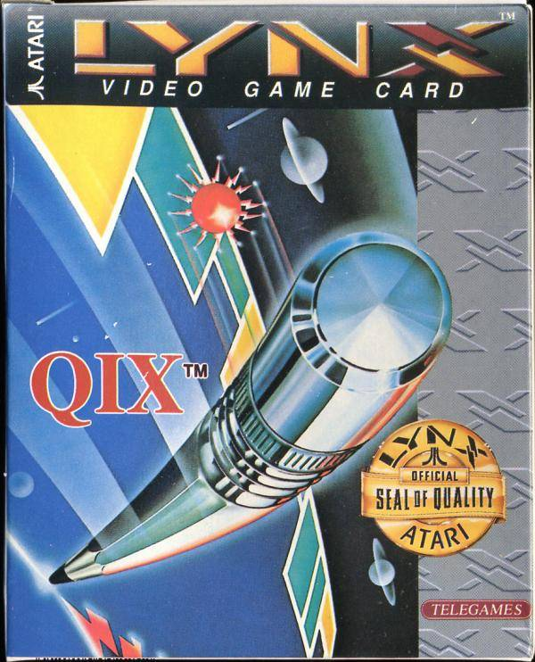 Qix - Lynx | Retro1UP Game