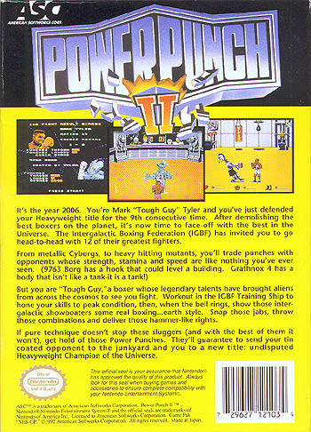 Power Punch II - NES | Retro1UP Game