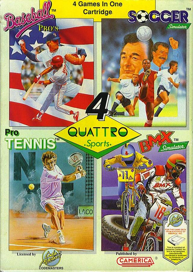 Quattro Sports - NES | Retro1UP Game