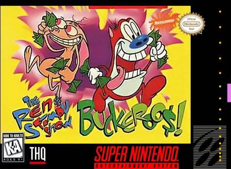 The Ren & Stimpy Show: Buckeroo$! - Super Nintendo | Retro1UP Game