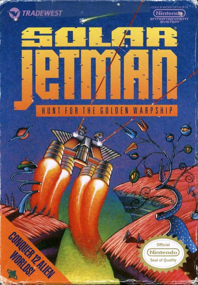 Solar Jetman: Hunt for the Golden Warpship - NES | Retro1UP Game