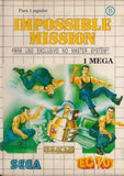 Impossible Mission - Sega Master System | Retro1UP Game