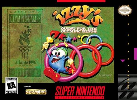 Izzy's Quest for the Olympic Rings - Super Nintendo | Retro1UP Game