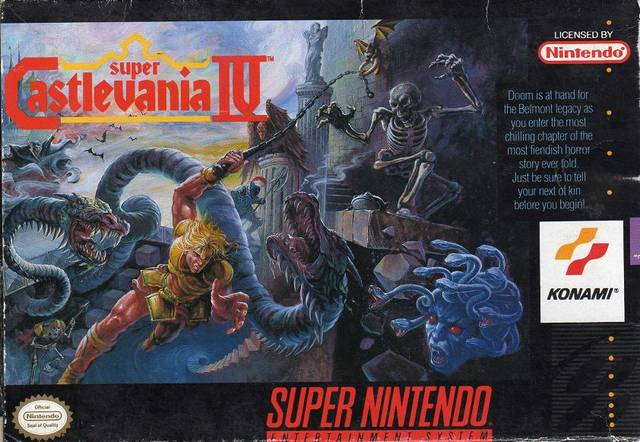 Super Castlevania IV - Super Nintendo | Retro1UP Game