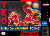 TKO Super Championship Boxing - Super Nintendo | Retro1UP Game