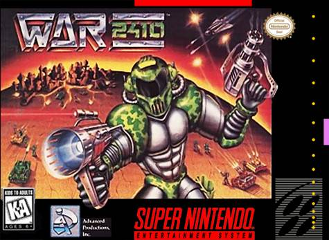 War 2410 - Super Nintendo | Retro1UP Game
