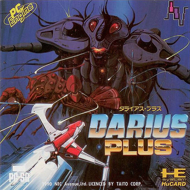 Darius Plus - TurboGrafx-16 | Retro1UP Game