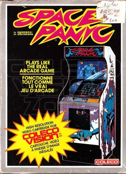 Space Panic - Colecovision | Retro1UP Game