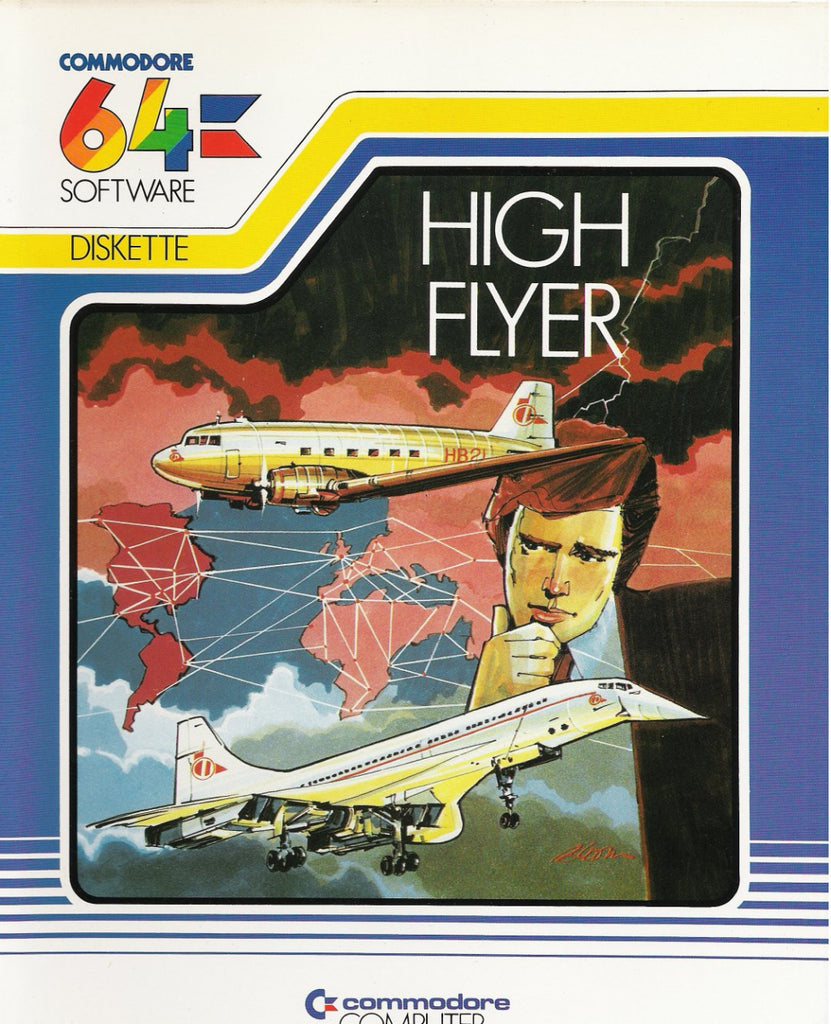 High Flyer - Commodore 64 | Retro1UP Game