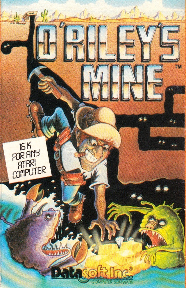 O'Riley's Mine - Atari 8-bit | Retro1UP Game