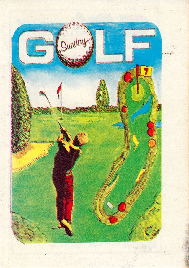 Sunday Golf - Atari 8-bit | Retro1UP Game