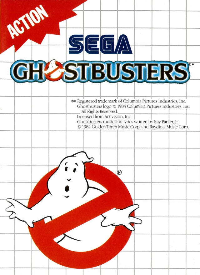 Ghostbusters - Sega Master System | Retro1UP Game