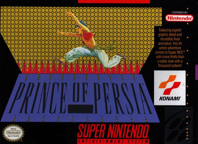 Prince of Persia - Super Nintendo | Retro1UP Game