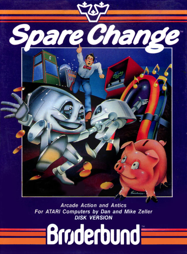 Spare Change - Atari 8-bit | Retro1UP Game