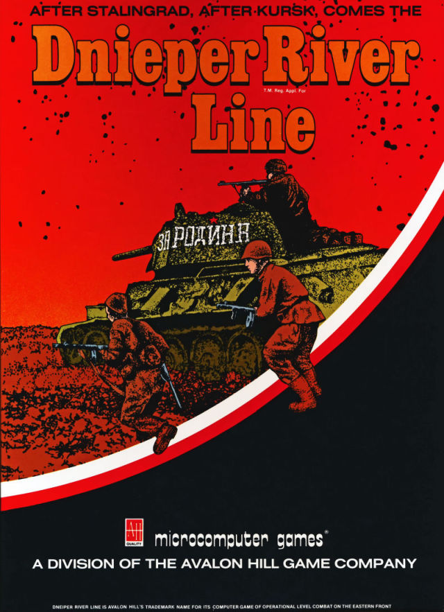 Dnieper River Line - Atari 8-bit | Retro1UP Game