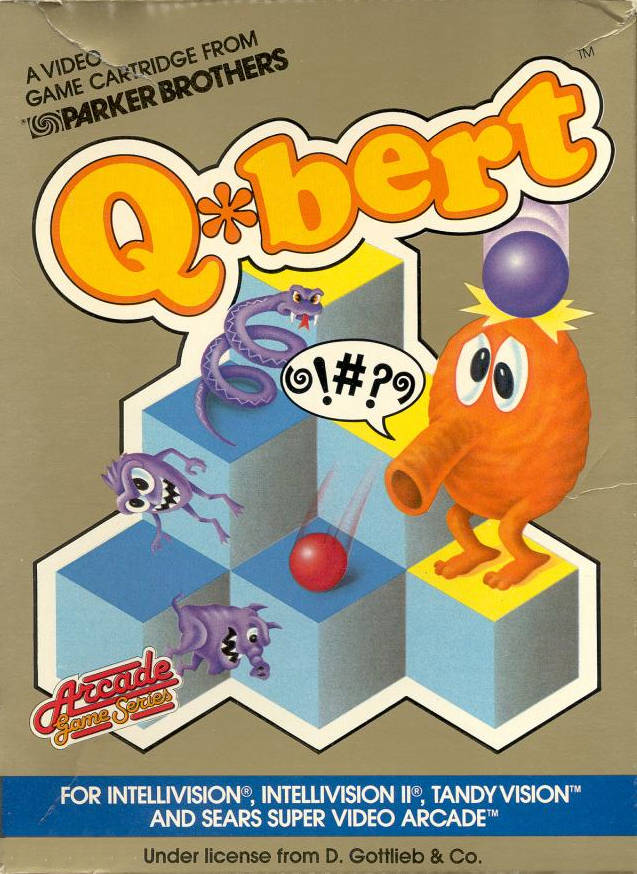 Q*bert - Intellivision | Retro1UP Game
