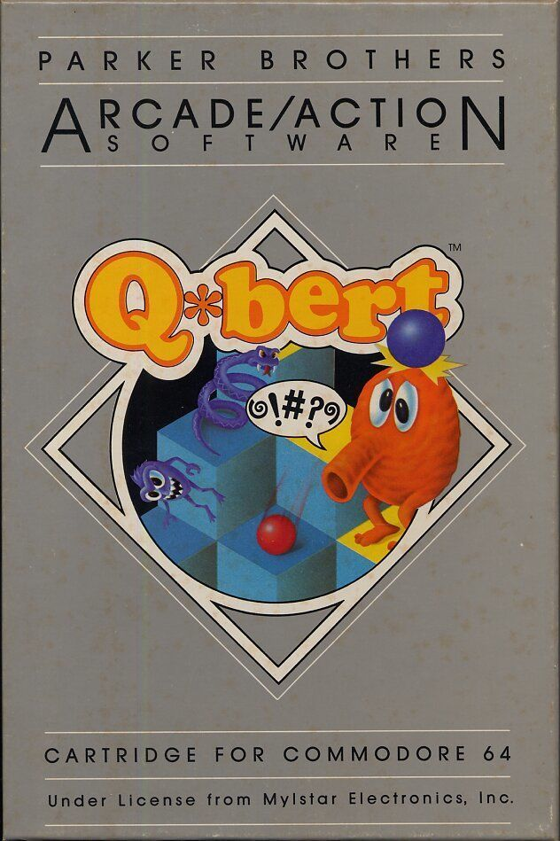Q*bert - Commodore 64 | Retro1UP Game