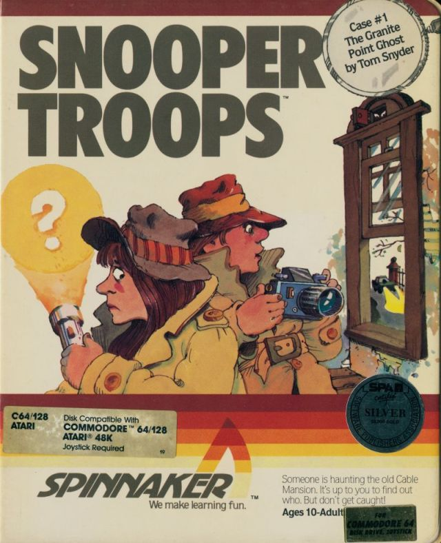 Snooper Troops - Commodore 64 | Retro1UP Game