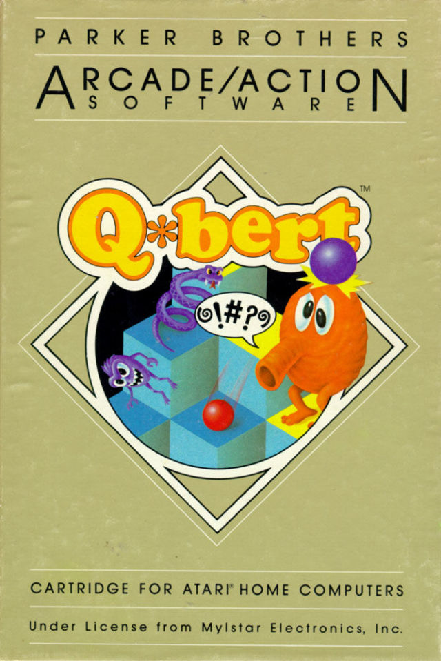 Q*bert - Atari 8-bit | Retro1UP Game