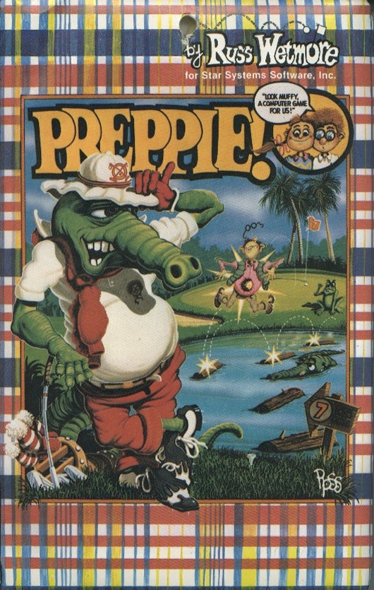 Preppie! - Atari 8-bit | Retro1UP Game