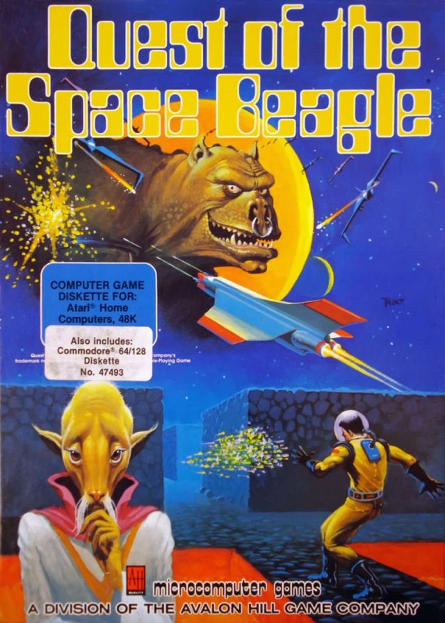 Quest of the Space Beagle - Atari 8-bit | Retro1UP Game