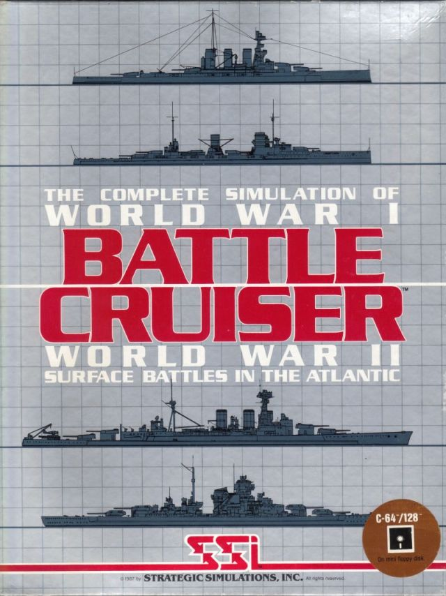 Battle Cruiser - Commodore 64 | Retro1UP Game